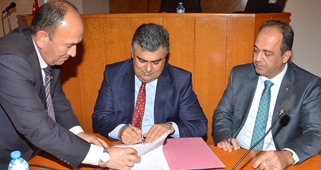 Ereğli Belediyesi Sosyal Denge Sözleşmesini imzaladı