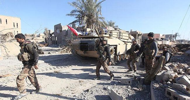 Irak güçleri El-Mel'ab bölgesini ele geçirdi
