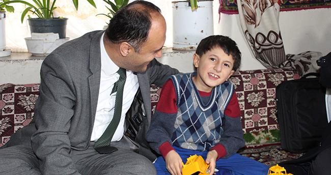 Toprak'ın hayali Cumhurbaşkanı Erdoğan ile tanışmak