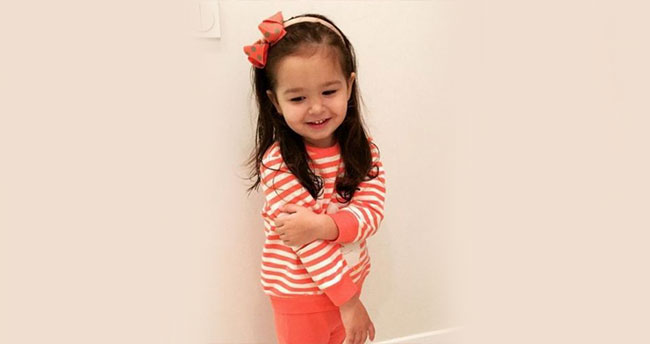 İbrahim Tatlıses'in küçük kızı Elif Ada büyüdü