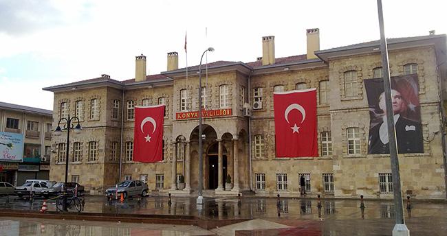 Konya'da yürüyüş ve gösteri yerleri değişti
