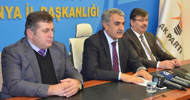 Konya milletvekili Ağralı'ya Şırnak görevi