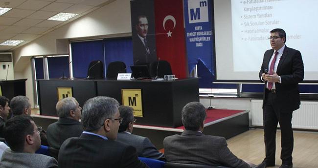 Konya'da e-fatura ve e-defter semineri