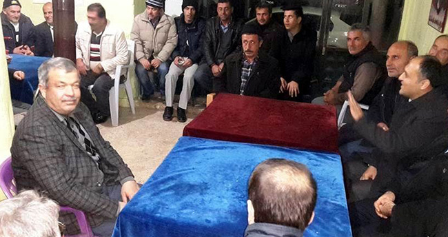 Başkan Özaltun'un mahalle ziyaretleri sürüyor