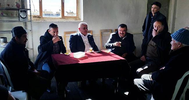 Başkan Vardar vatandaşlarla bir araya geldi