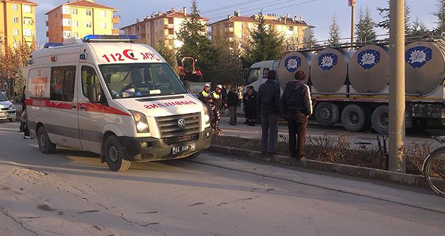 Konya Ereğli'de engelliye çarpan sürücü kaçtı