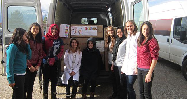 Konya Seydişehir'den Doğubeyazıt'a uzanan iyilik hareketi