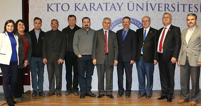 KTO Karatay Üniversitesi'nde Cern tanıtım toplantısı