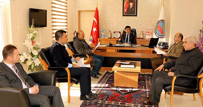 Halkapınar'da ilçe av komisyonu toplandı