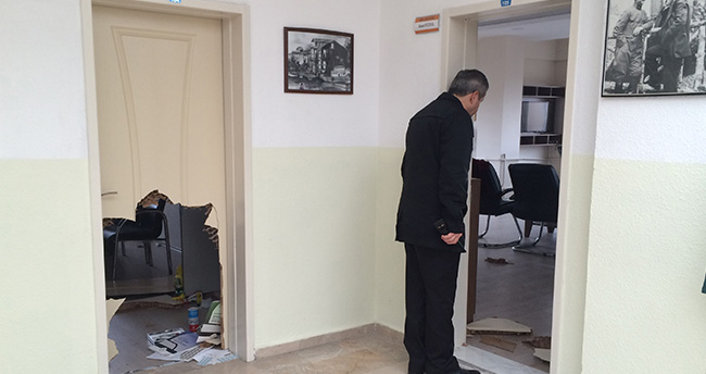 Konya'da okulda hırsızlık