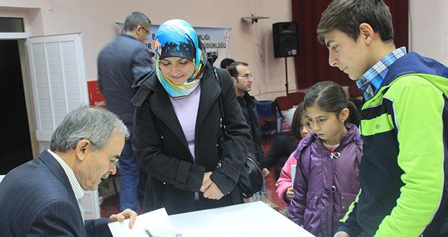 Ali Erkan Kavaklı, Bozkır'da kültür sohbetlerine katıldı