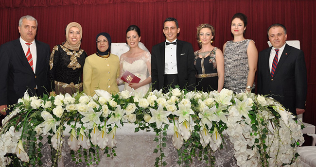 Meram'da 2015 yılında 2595 nikah kıyıldı