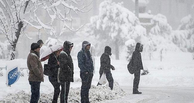 Doğu'da sıcaklık eksi 22 dereceye kadar düştü