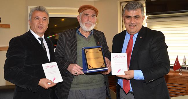 Ereğlili şair Hasret kitabını yayınladı