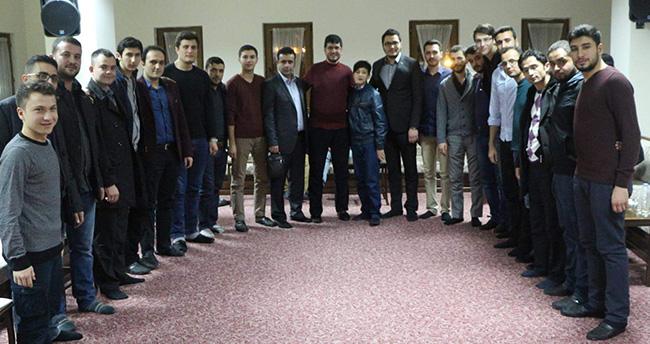 Konya'da anlamlı buluşma