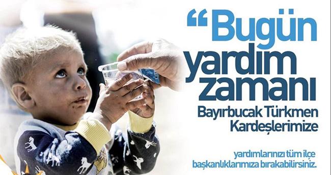 Ak Parti Konya'dan Türkmenlere yardım kampanyası