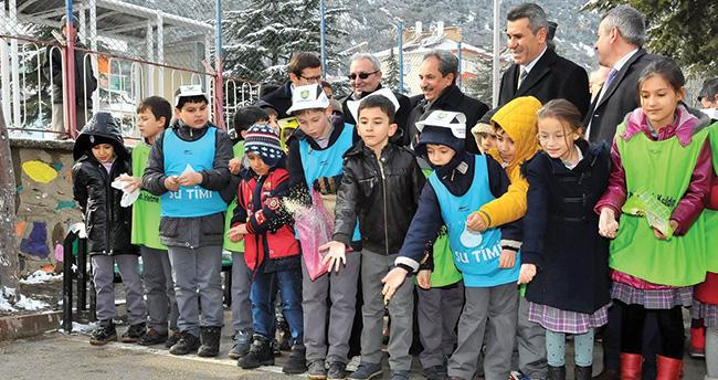 Akşehir'de Çevre Dostu Ak-Şehir projesi