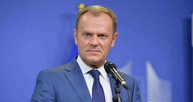Avrupa Birliği Konseyi Başkanı Tusk: Shengen çökebilir