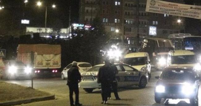 Van'da kız yurduna saldırı