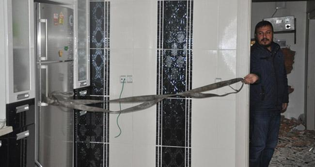 Buzdolabını açarken bile ecel teri döktüler