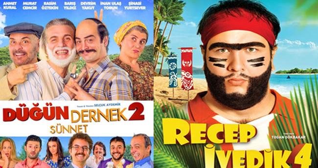 Düğün Dernek 2 filmi Recep İvedik'in rekorunu kırdı mı?