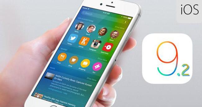 iOS 9.2.1 Güncellenmesi Yayınlandı