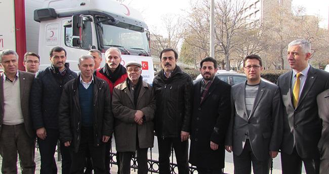 Konya Ticaret Odası'ndan Türkmenlere yardım