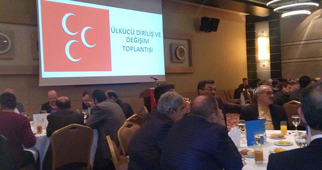 Ülkücüler Konya'da 'Diriliş ve Değişim' dedi