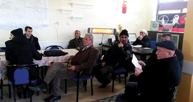 Seydişehirli çiftçilere bağcılık eğitimi