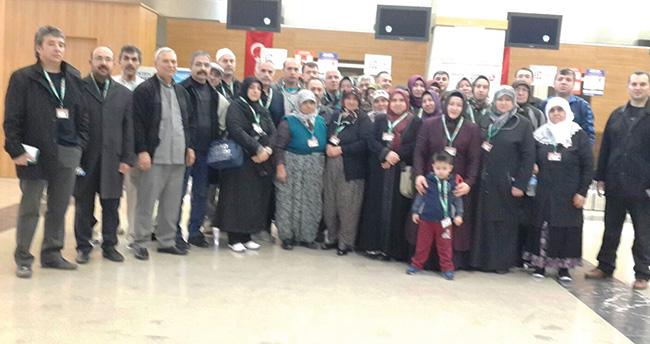 Türk Eğitim-Sen Konya'dan Umre ziyareti