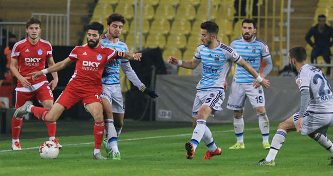 Fenerbahçe 5'te 5 yaptı