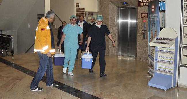 Konya'da bağışlanan organlar 5 hastaya umut oldu