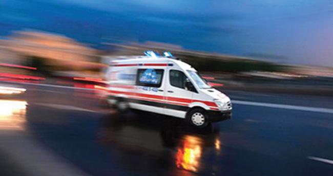 Konya'da balkondan düşen kadın ağır yaralandı