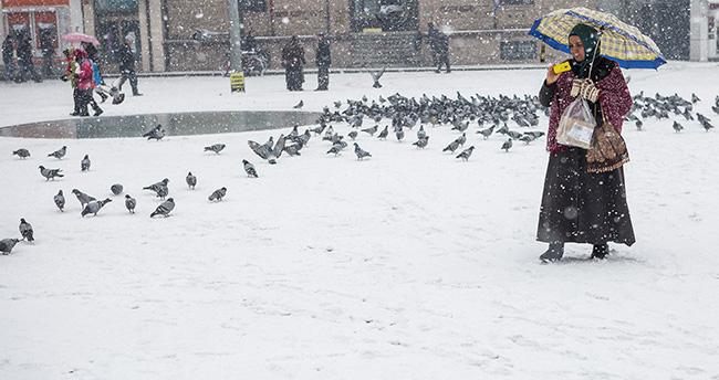 Konya'ya kar geliyor – Konya hava durumu