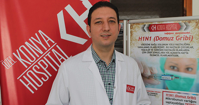 Özel Konya Hospital'den domuz gribi testi