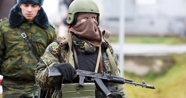 Rus askeri Türkiye sınırında