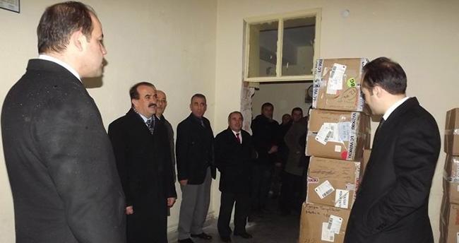 Seydişehir'de öğrencilere kıyafet yardımı
