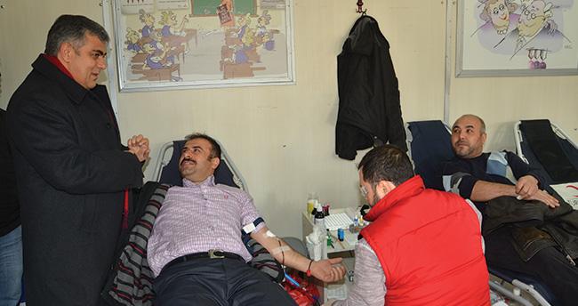 Ereğlili vatandaşlardan kan bağışına destek