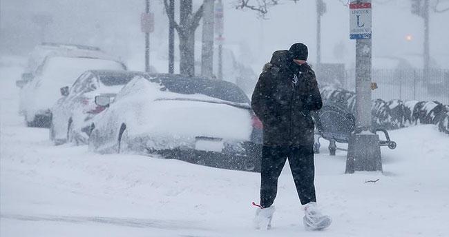 ABD'de kar fırtınası yüzünden 11 eyalette olağanüstü hal ilan edildi