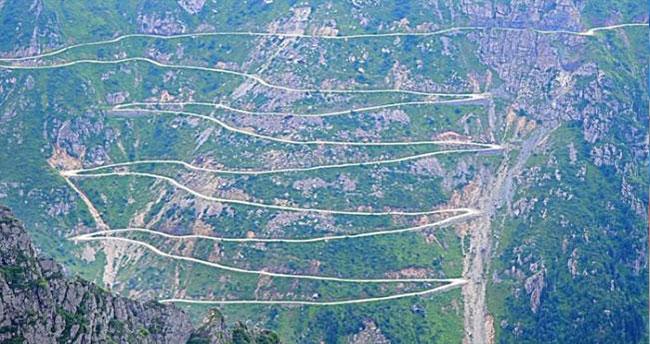 Dünyanın en tehlikeli yolu Türkiye'de
