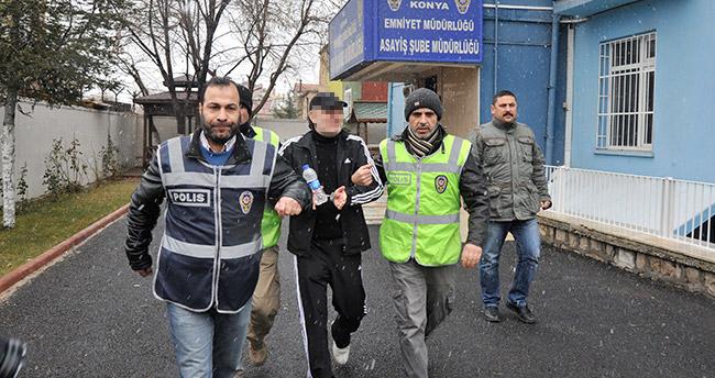 Konya'da müebbet hapis cezası alan hükümlü yakalandı