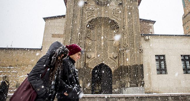 Meteoroloji'den Konya'ya yine kar uyarısı – Konya hava durumu!