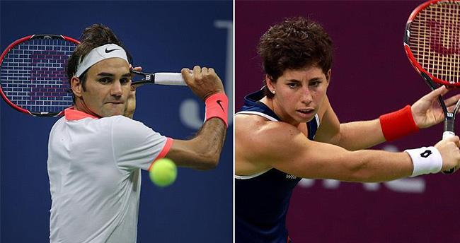 Federer ve Suarez Navarro da çeyrek finalde
