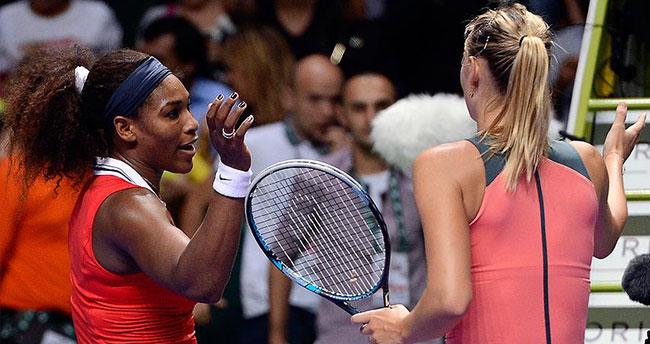 Williams ile Sharapova çeyrek finalde eşleşti