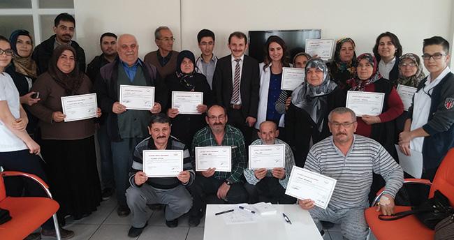 Beyşehir Devlet Hastanesi Diyabet Okulu ilk mezunlarını verdi