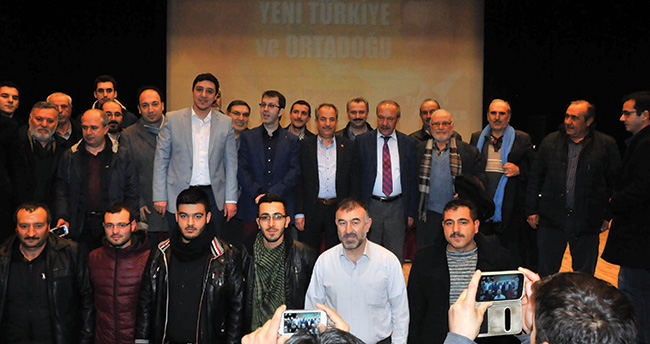 Mehmet Çelik ve Turgay Güler'den konferans