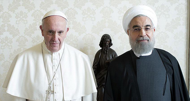 Ruhani Papa Franciscus'tan kendisi için dua istedi