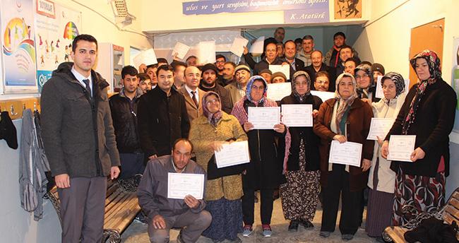 Karaman'da 232 kişiye sürü yönetici sertifikası