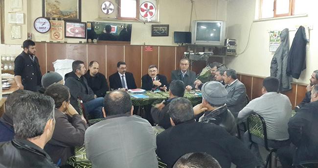 Akşehir'de mahalle sakinlerine seracılık anlatıldı