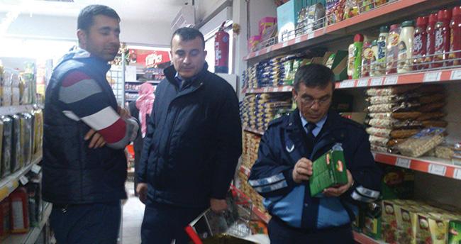 Beyşehir'de market ve bakkallar denetlendi